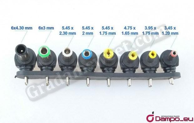 /><br /> <big>Výborná sada konektorů pro zdroj v<span style=