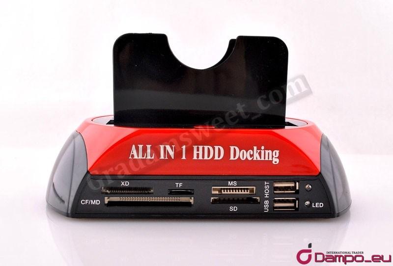 /><br />Rozhraní SATA umožňující rychlost až 1,5 Gbit/s a SATA II až 3 Gb/s.<br />Napájení pomocí zdroje, který je součástí dodávky.<br /><br />Funkce OTB (One Touch Backup)<br />– dovoluje pořizovat záložní kopie vybraných diskových prostorů stisknutím jednoho tlačítka.<br /><br />Jednoduché a velmi výhodné zálohování.<br />Jednou nastavíme složku, která se má zálohovat, a hned po zapojení disku do USB<br />stiskneme tlačítko backup a systém zazálohuje na náš disk příslušnou složku.<br /><br /><span>Koukněte na video!</span><br /><a rel=
