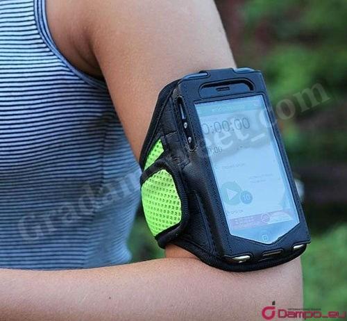 /><br /> Při běhání, nordic walking,<br /> v posilovně nebo bruslení nebo na kole můžete mít svůj mobilní telefon vždy na dosah.<br /> <img style=