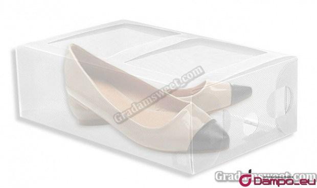 /></span></big></big><br /> Průhledná krabice od bot - pomůže zorganizovat a udržet pořádek ve vaší kolekci obuvi.</span><br style=