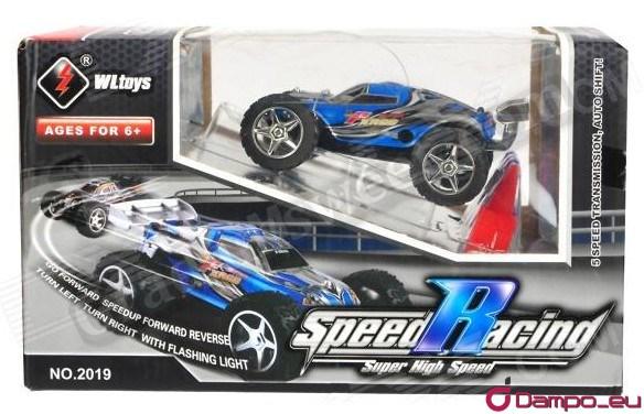 /><br /><span>Superychlé auto na dálkové ovládání vhodné pro děti od 6 let ale dokáže pobavit i dospělého!</span><br /><br /><span>Pomocí ovládání lze rychlost autíčka nastavit v pěti stupních,</span><br /><span> a po přepnutí do turbo módu dokáže vyvinout rychlost až 25 km/h.</span><br /><br /><span> Pomocí rampy lze s autem skákat.</span><br /><img src=