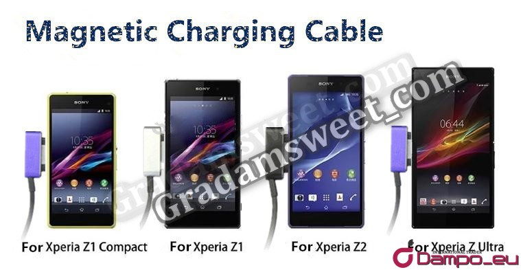 /><br /> Hliníkový magnetický nabíjecí kabel k smartphonům <span style=